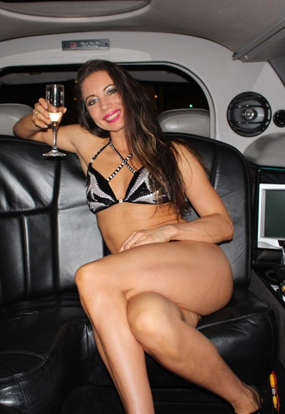 limousine striptease