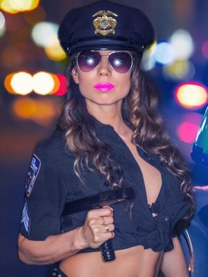 Politie stripster
