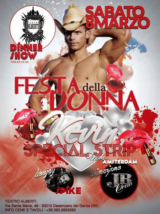 Strippers internationale vrouwendag