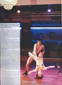 "ALT=""Psychologie magazine interview met striptease Michele"""