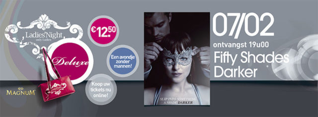 Ladiesnight fifty shades darker